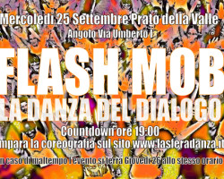 Il Flash Mob in Prato apre il Festival di Danza