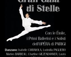 GRAN GALA' DI STELLE con Étoile, Primi Ballerini e i Solisti dell'OPÉRA di PARIGI