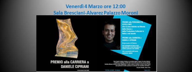 Daniele Cipriani 'Personalità Eccellente'