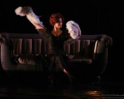 Rossella Brescia balla Fellini in 'Amarcord'