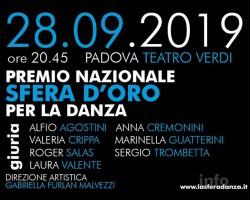 Teatro Stabile del Veneto_Premio Nazionale Sfera d'Oro