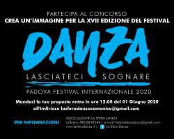 """CREA UNA NUOVA IMMAGINE PER LA XVII EDIZIONE DEL FESTIVAL INTERNAZIONALE DI DANZA """"LASCIATECI SOGNARE"""""""