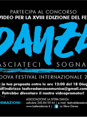 CREA UN VIDEO PER LA XVIII EDIZIONE DEL FESTIVAL LASCIATECI SOGNARE